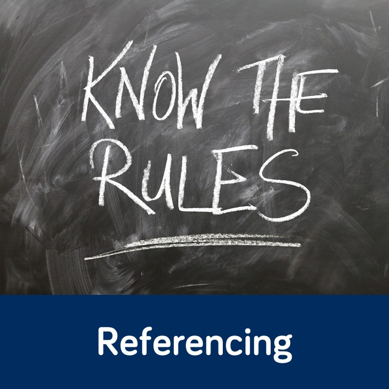 Referencing topic guide