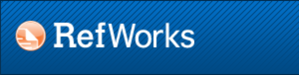 RefWorks logo in a banner