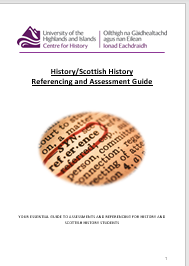 Cover of History Guide 2021