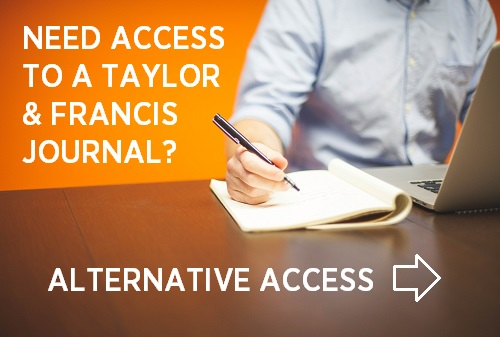 Alternative access to Taylor & Francis journals