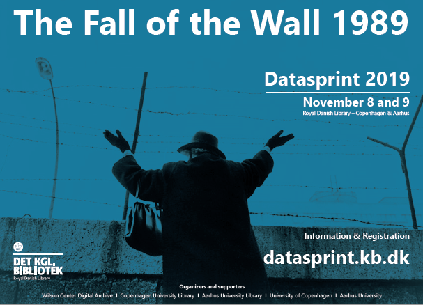The Fall of the Wall 1989  Datasprint 2019