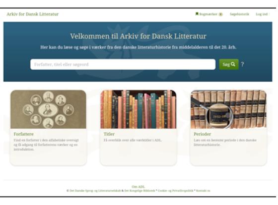 Arkiv for Dansk Litteratur i 3d