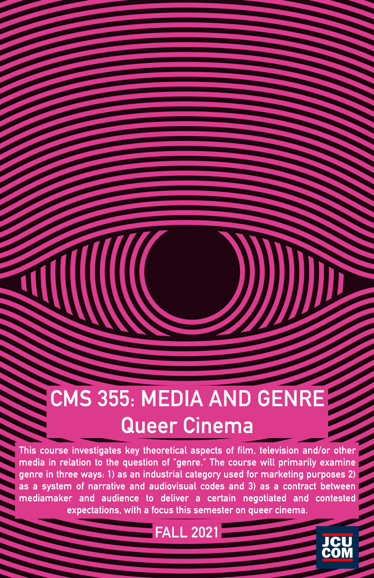 CMS 355 - Media and Genre - Queer Cinema