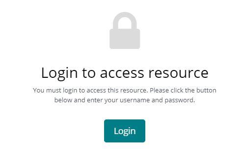 Click the green button - login