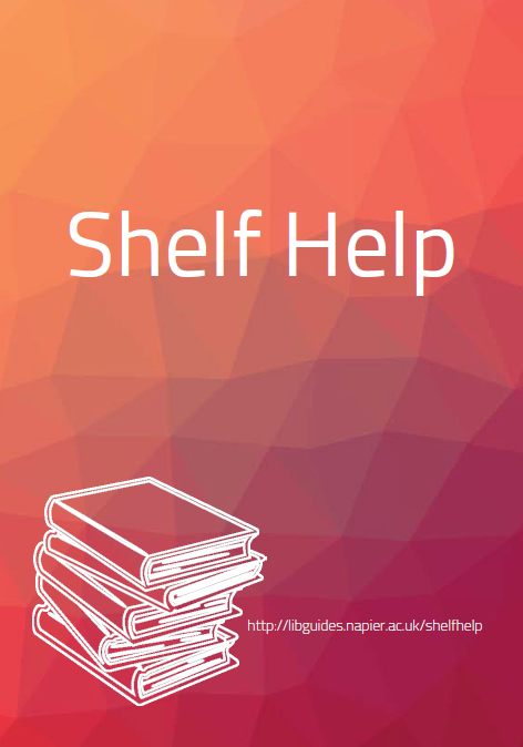 Find a printable version of our Shelf Help recommendations here