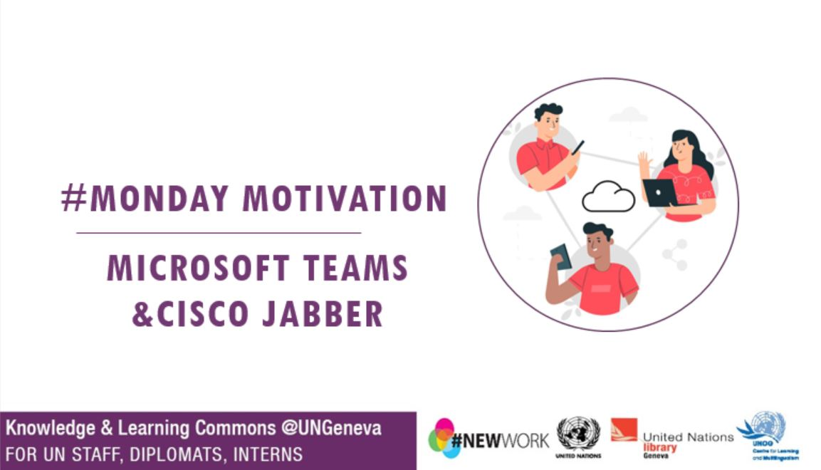 slideshow title page Microsoft Teams/Cisco Jabber
