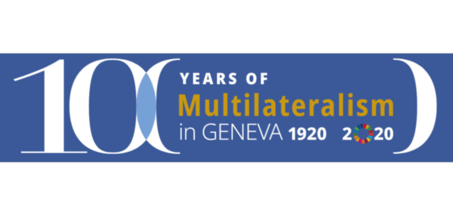 logo of multilateralism 100