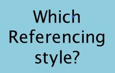 Which referencing style