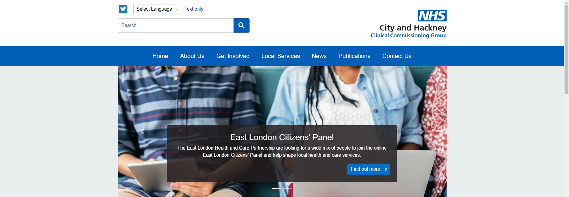 City & Hackney Clinical Commissioning Group.