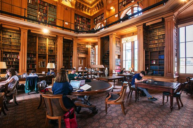 Main reading room of the Taylor Institution Library, Bodleian Libraries, Oxford