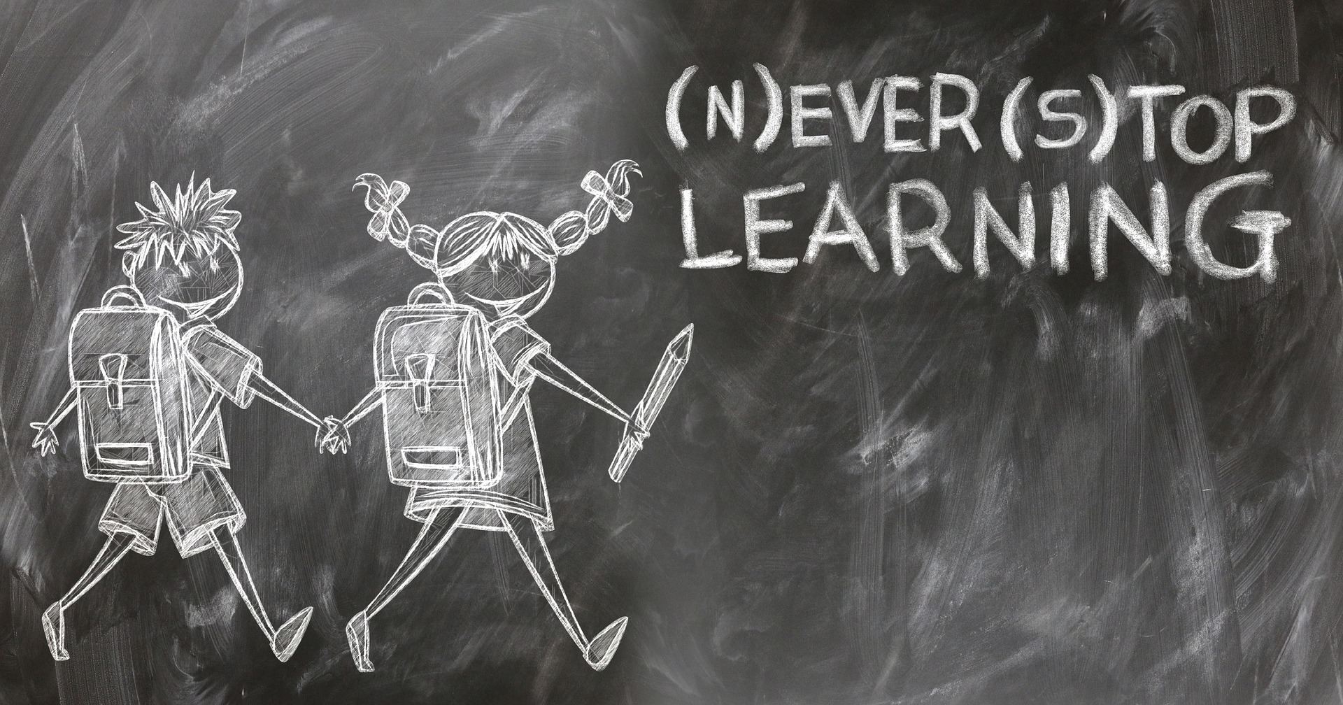 Never Stop Learning - Image by geralt