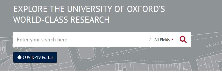 Image of ORA search box
