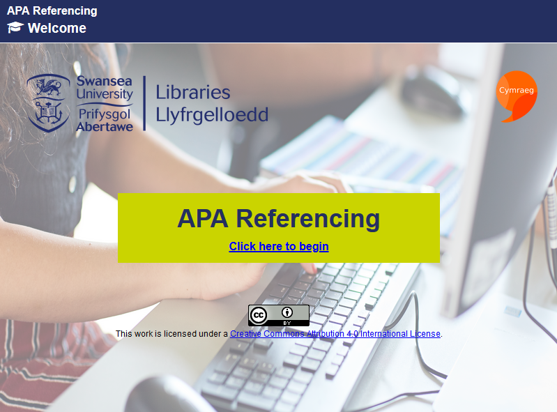APA Referencing Short Course