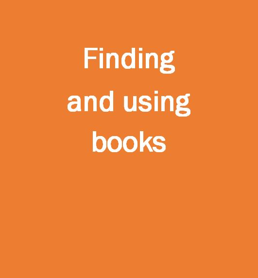 Finding and using books