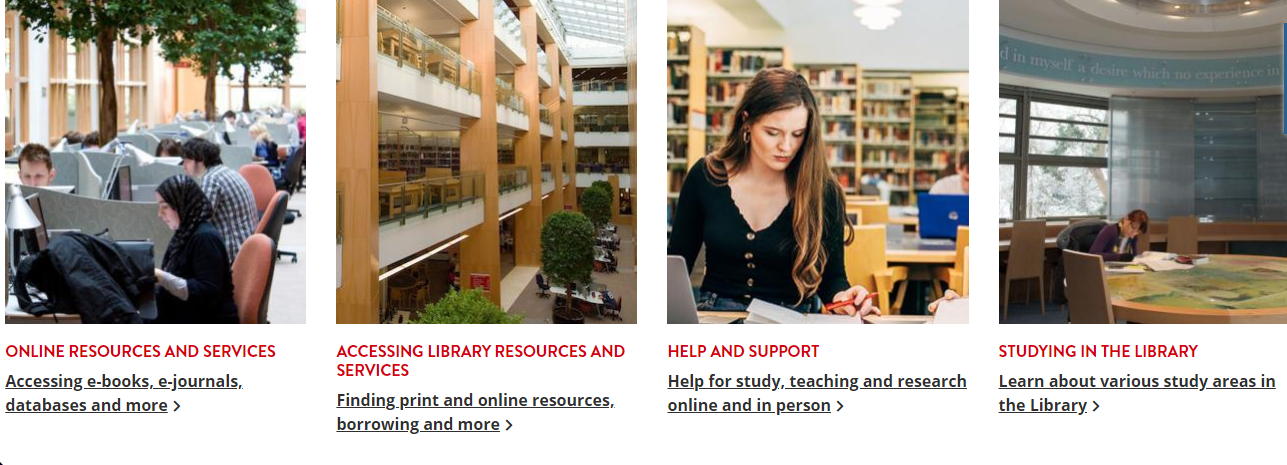 The Library Online