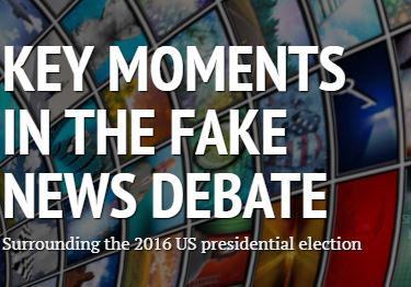Timeline for Fake News during the 2016 US Presidential elections