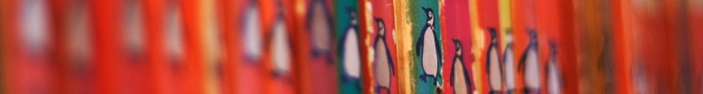 Image of a row of Penguin Classics