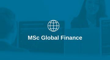 MSc Global Finance