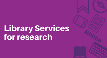 Library Services for research