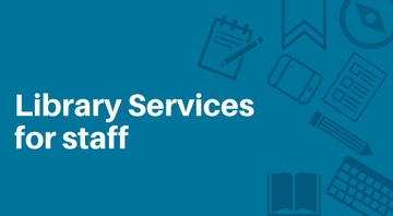 Library Services for staff