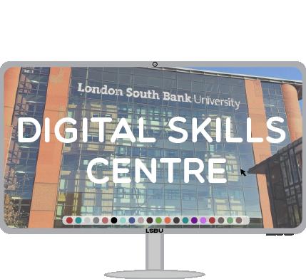 Digital Skills Centre logo a computer monitor