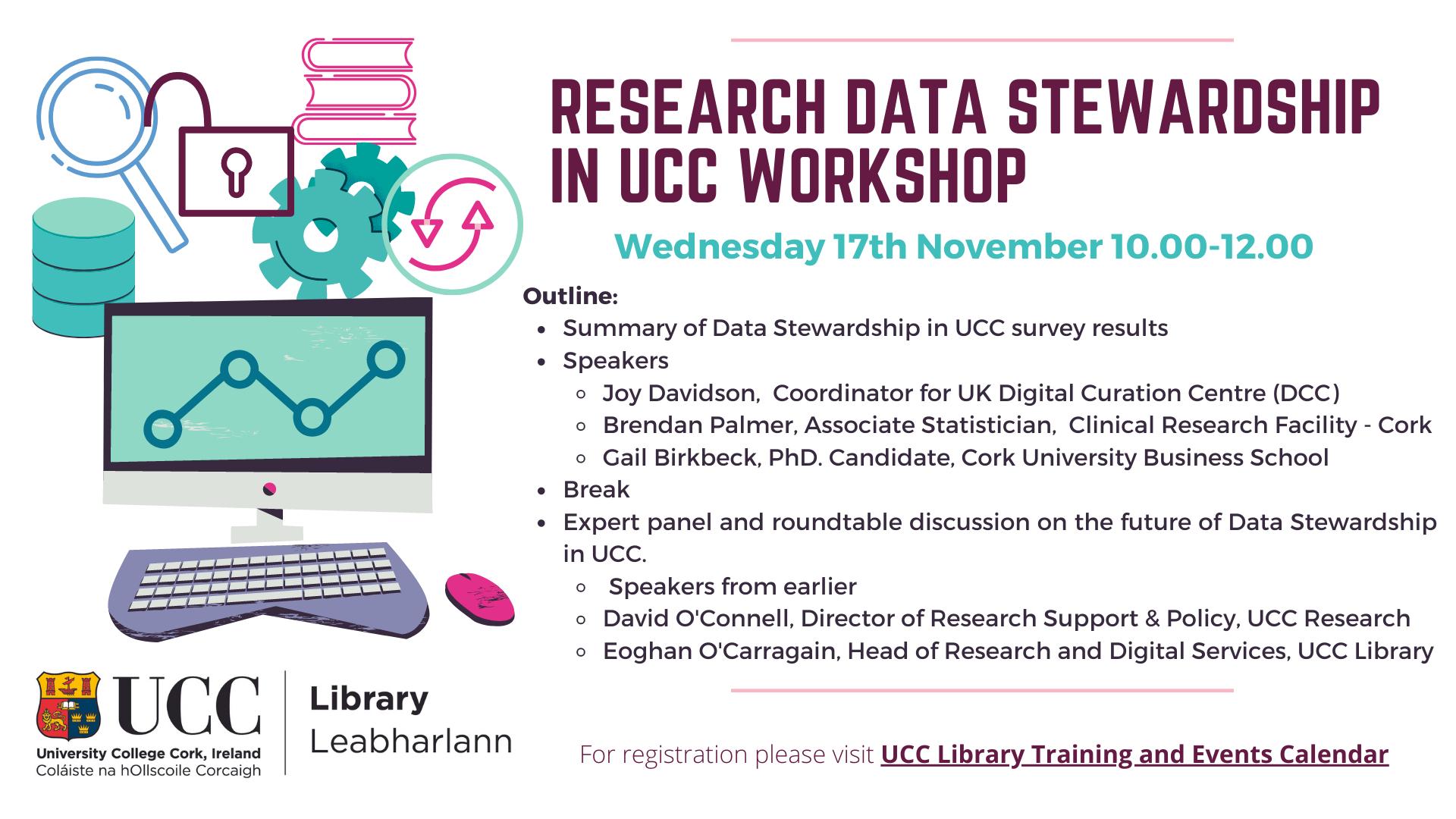 Data Stewardship in UCC