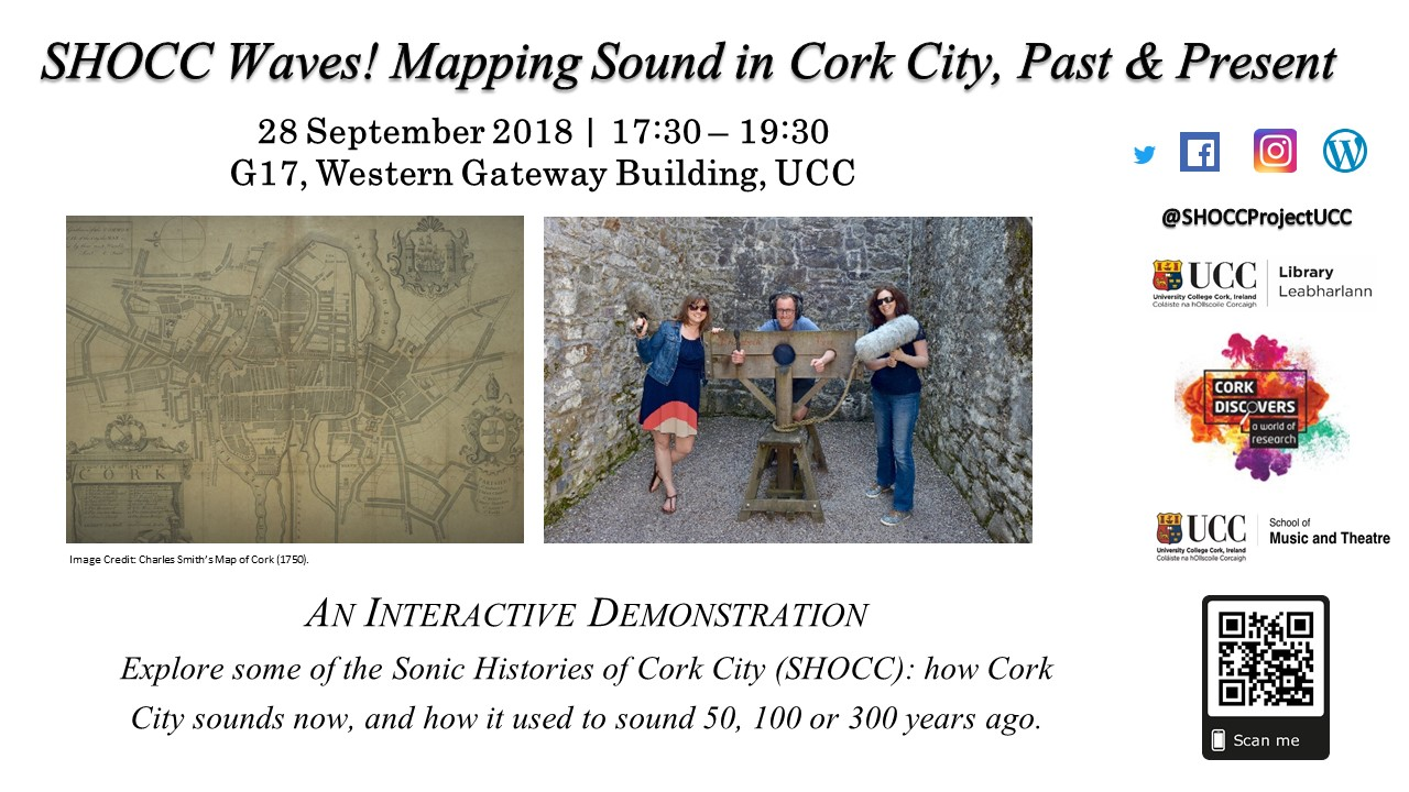 Shocc Waves: Mapping Sound in Cork City, Past & Present