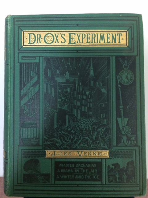 Book cover to Dr Ox's Experiment.