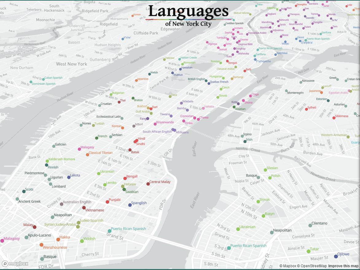 NYC Languages