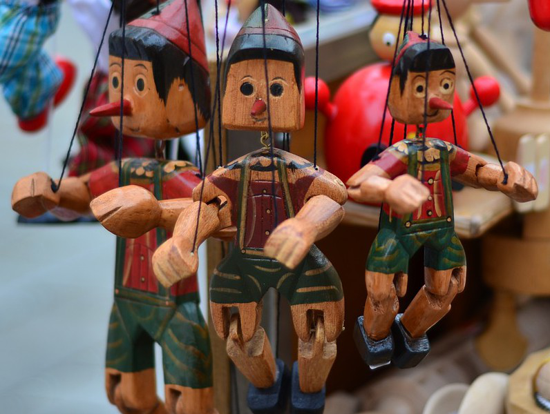 Pinocchio marionettes for sale