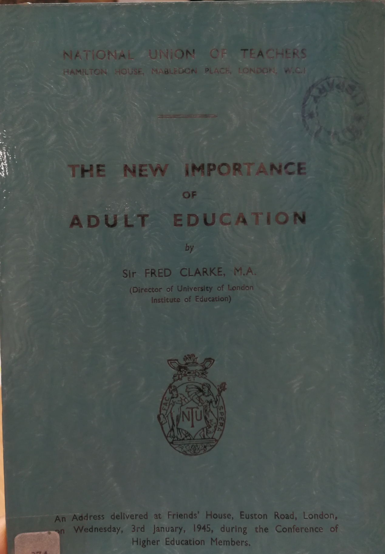 Image icon of a publication on adult education