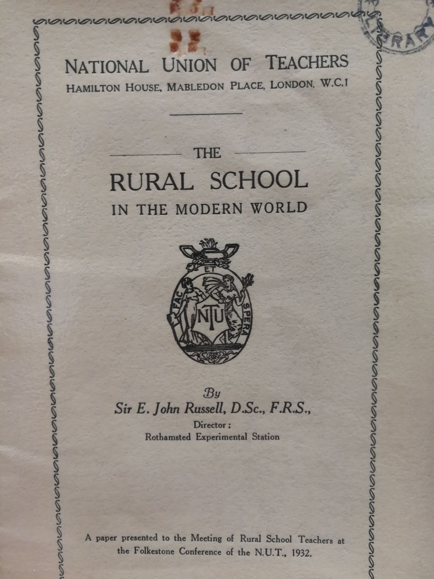 Image icon of a publication on rural schools