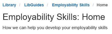 Employability skills image