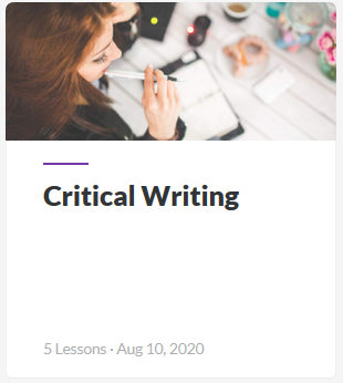 Critical Writing Guide