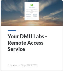Your DMU Labs Services Guide - access computers and software remotely