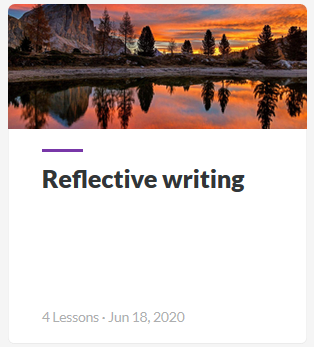 Reflective Writing Guide
