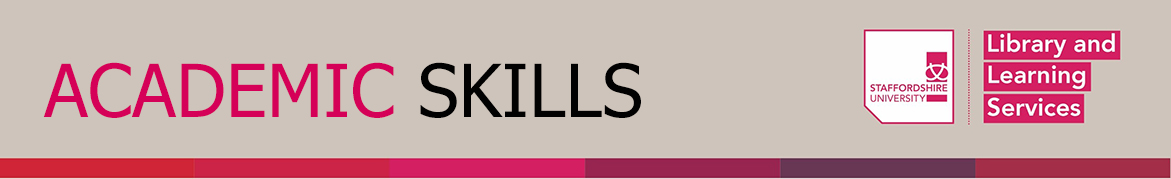 academic skills banner