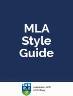 MLA Style Guide (pdf)