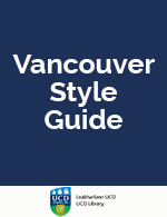 Vancouver Style (pdf)