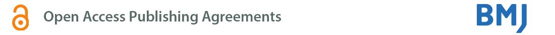 British Medical Journal (BMJ) agreement