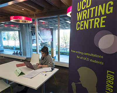 The UCD Writing Centre welcomes you