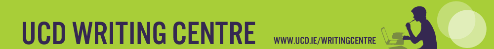 Writing Centre banner