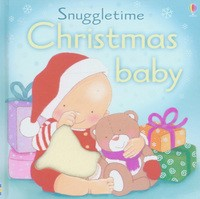 Snuggletime christmas baby book cover