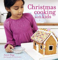 Christmas cooking with kids book cover
