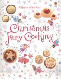 Christmas fairy cooking book cover