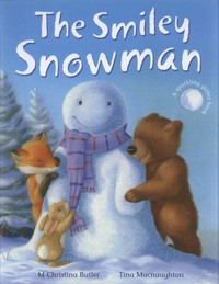 Smiley snowman book cover