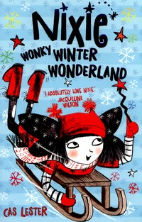 Nixie wonky winter wonderland book cover