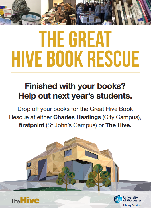 Book Rescue collection poster 2018