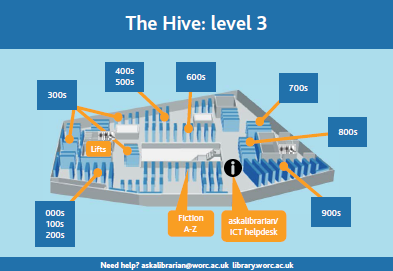Hive level 3 floor plan