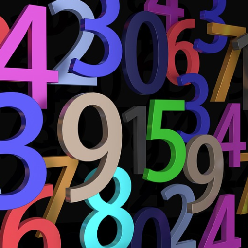 Multicoloured numbers